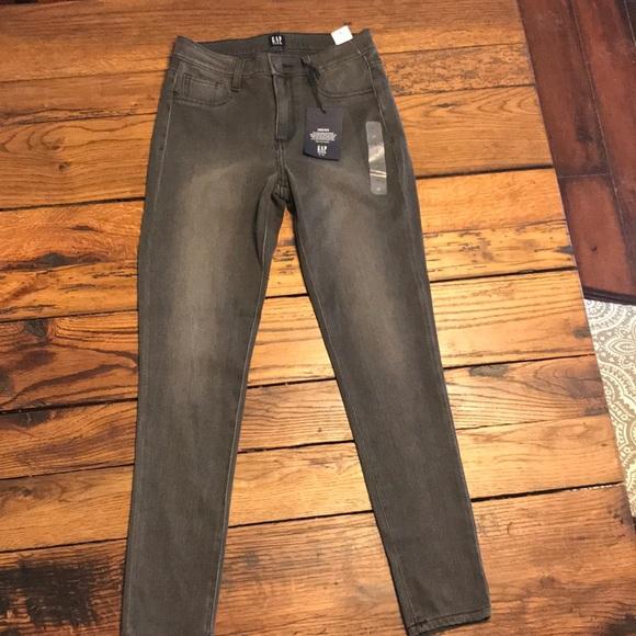 976694d4ae GAP Jeans | Nwt Knit Favorite Jegging Grey | Poshmark